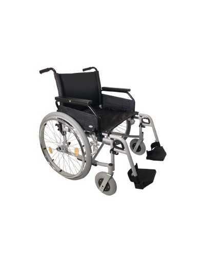 Fauteuil roulant pliant Rotec XL, largeur d'assise 56 cm