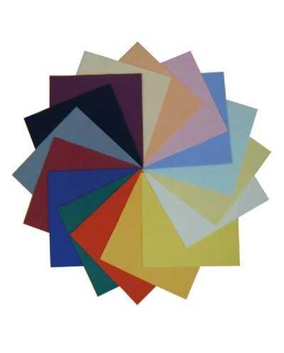Serviettes de table de couleursCarton de 20 paquets de 100