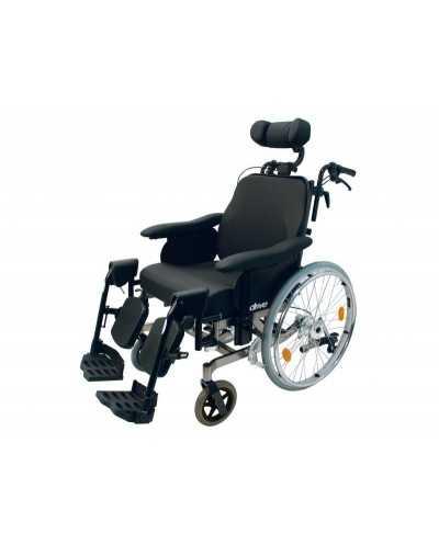 Fauteuil roulant de soins Multitec, largeur d'assise 49 cm