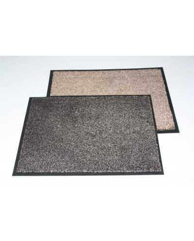 TAPIS ANTIPOUSSIERES ABSORB. BEIGE+ BORD 60X180CM