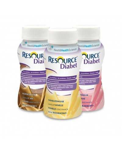 Resource DiabetPack de 4 x 200 ml