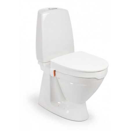 Rehausse-wc Etac My-Loo avec clips et couvercle - hauteur 10 cm