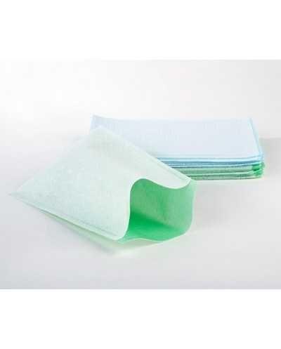 Gants de toilette en non tissé + PEPar carton de 20 sachets de 50