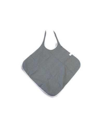 Bavoir imperméable carré, 72 x 90 cm, gris.
