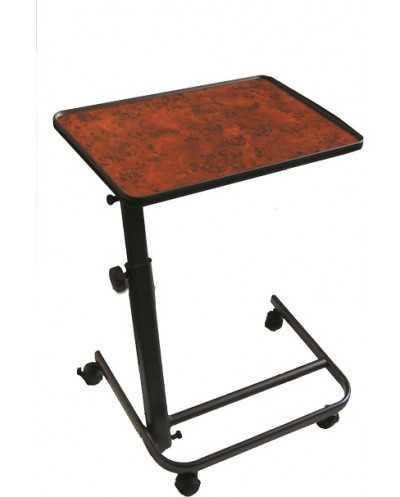 Table à manger au fauteuil. Coloris : Ronce de Noyer.