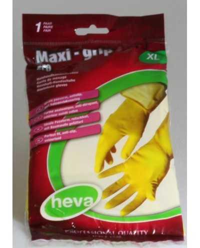Paire de gants de ménage, X-large, jaune.