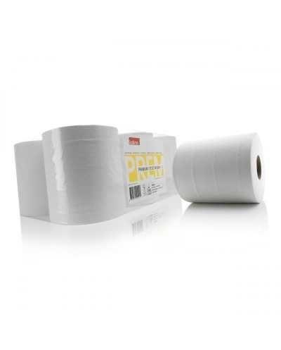 Maxi bobines d'essuyage, 2 plis, extra-blanc.Ballot de 6