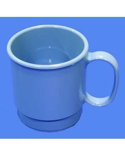 Tasse en polycarbonate,bleu ardois