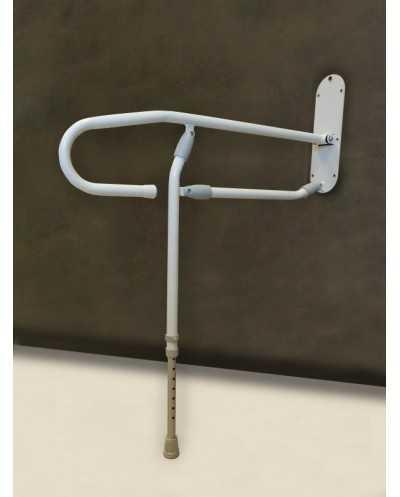 Barre de relevage en acier traité époxy, longueur 74 cm