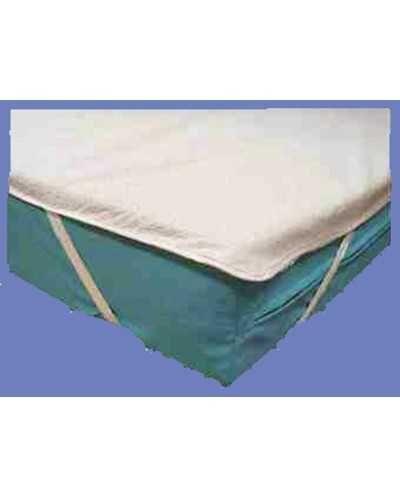 Alèse plateau en PVC/tissu éponge (côté dormeur)