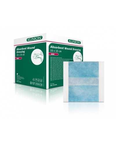Pansement absorbant Klinion, 10 x 10 cm, stérileBoite de 50