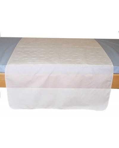Alèse textile lavable avec rabats 100 % polyester
