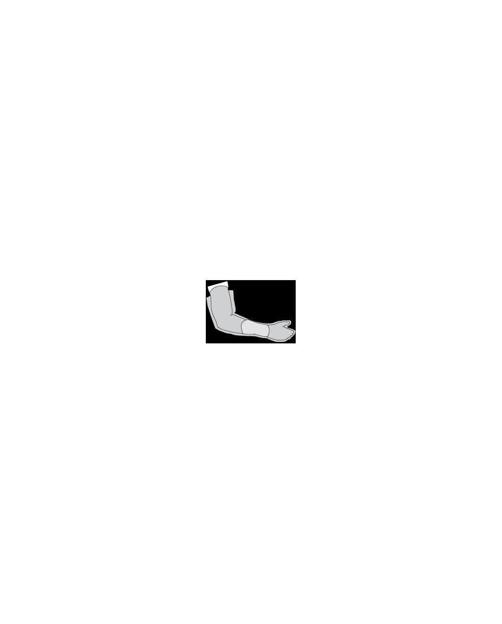 Housse étanche pour plâtre du bras, taille S.