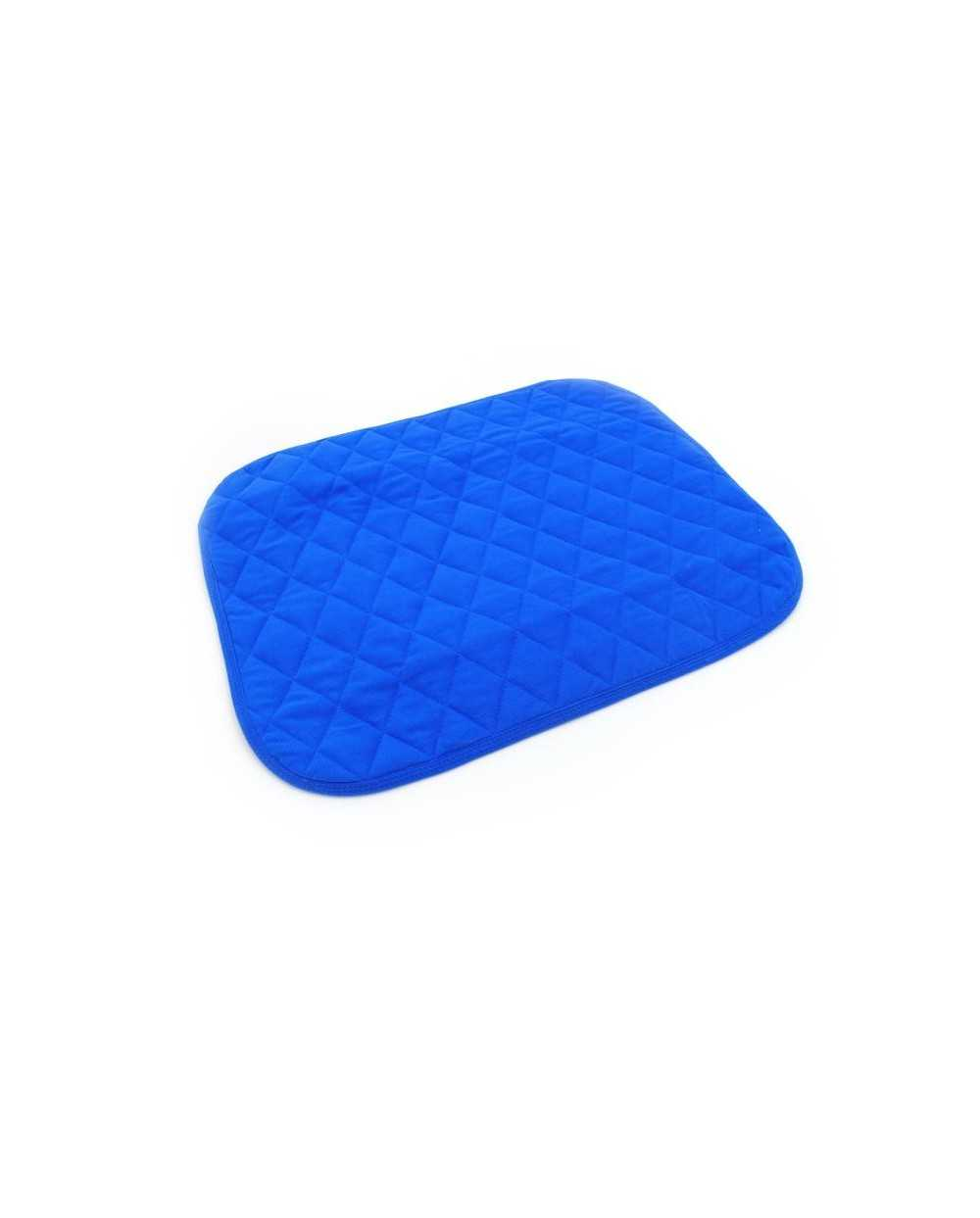 Alèse de siège matelassée, 40 x 50 cm, bleu.