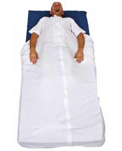 Housse de gériatrie Bodyfix, taille unique, blanche.