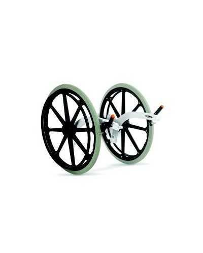 Adaptateur de roue arrière pour chaise de douche Etac Clean, 55 cm