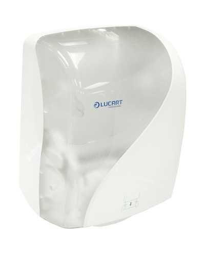 Distributeur à découpe automatique Identity, blanc, pour bobines d'essuyage réf. 705.100 et 705.500.