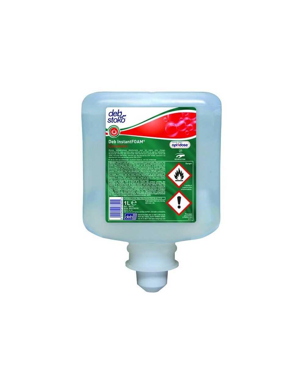 Recharge 1 litre Deb Instantfoam Complete Optidose