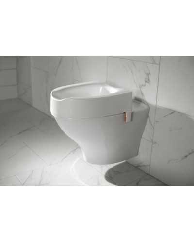 Rehausse-wc Etac My-Loo avec clips -hauteur 10 cm