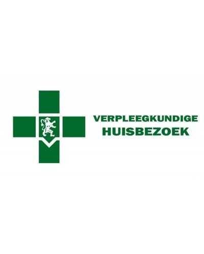 """Plaque """"Verpleegkundige - Huisbezoek"""", verte - NL"""