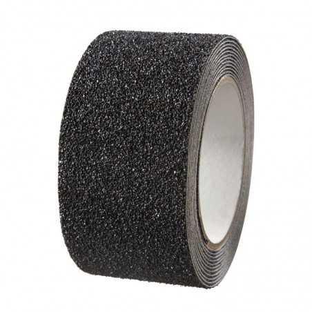 Stickers antidérapants en rouleau de 5 x 300 cm, noir.
