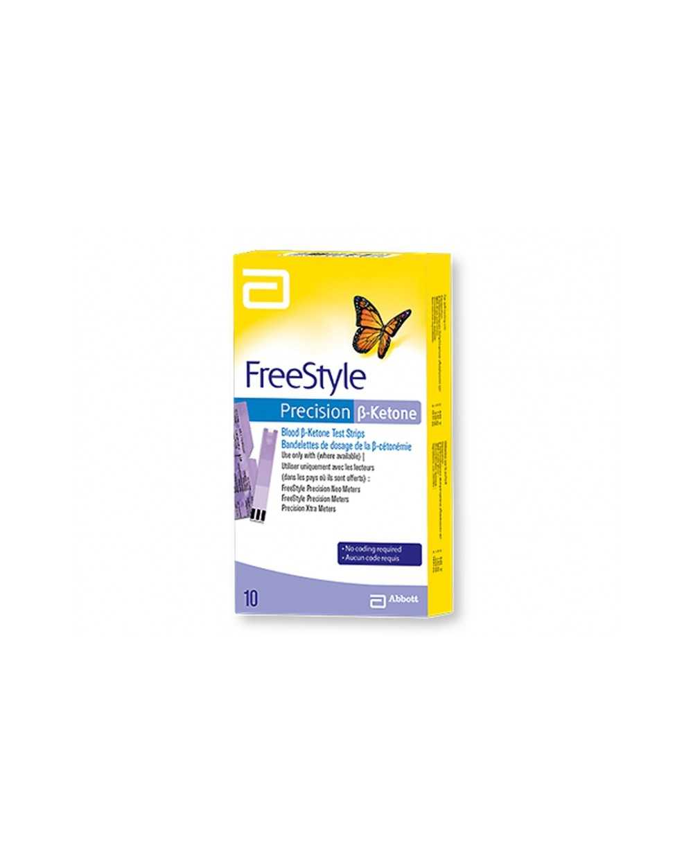 Electrodes FREESTYLE PRECISION B-KETONE Boîte de 10