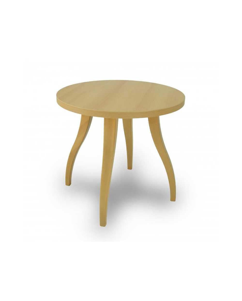 Table de salon Flex ronde, Æ 60 cm x 55 cm, hêtre.