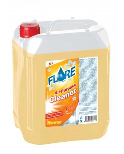 Nettoyant multi-usages Flore.Bidon de 5 litres