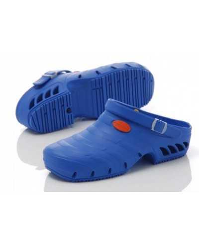 Sabots de bloc Oxyclog, bleu électrique