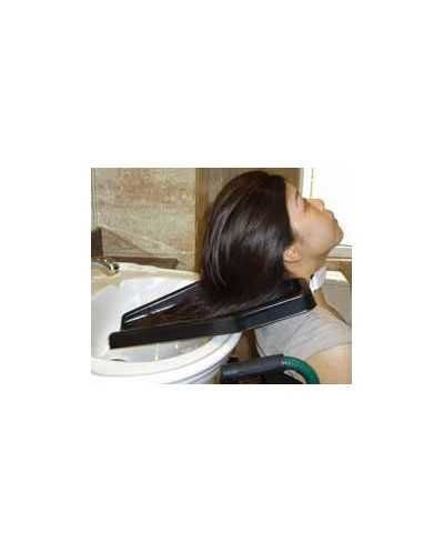 Plateau lave-cheveux.
