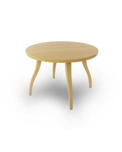 Table de salon Flex ronde, Æ 80 cm x 55 cm, hêtre.