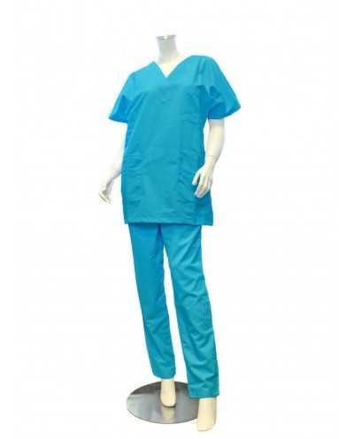 """Pantalon """"Mixte"""", bleu turquoise"""