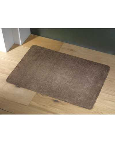TAPIS ANTIPOUSSIERES ABSORBER BRUN 50X80 CM