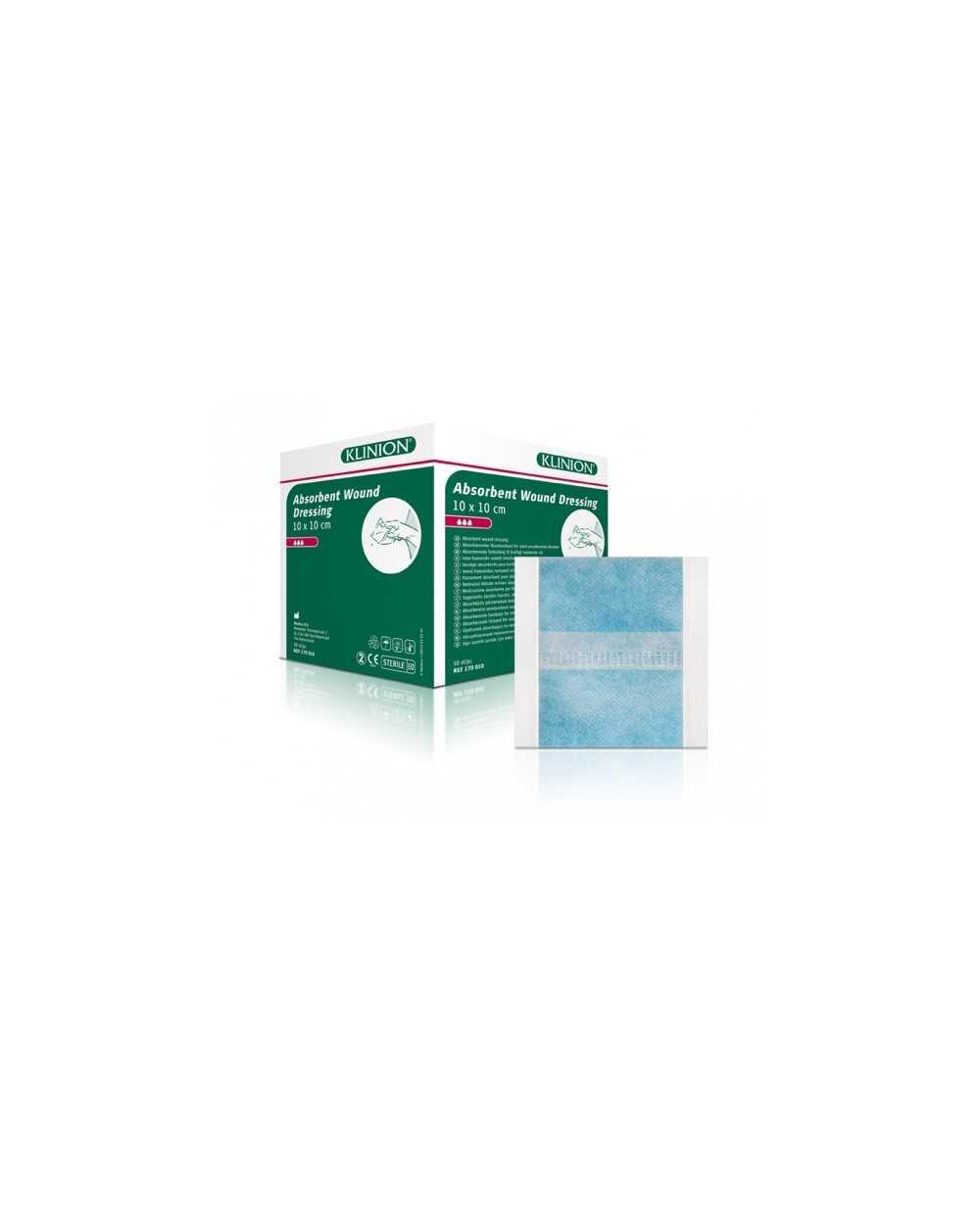 Pansement absorbant Klinion, 20 x 40 cm, stérile Boite de 8 x 6