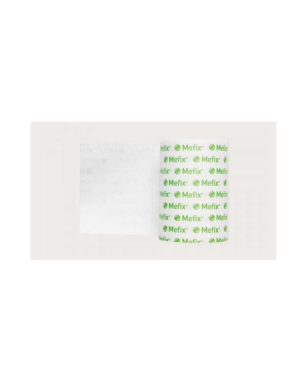Mefix, fixation adhésive, non tissé, 15 cm x 10 m, non stérile. 1 rouleau