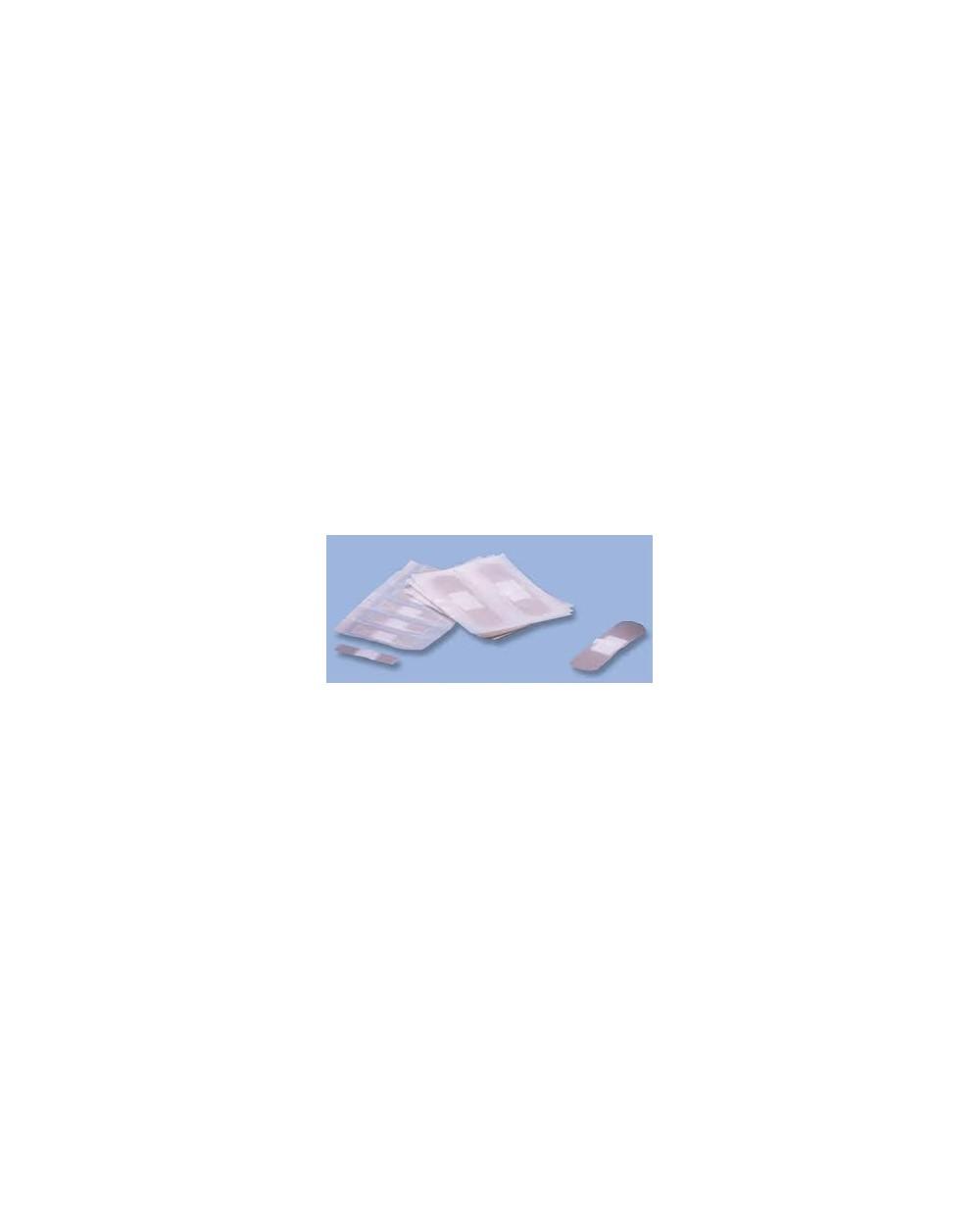Pansements découpés standard - 20 x70 mm. Boîte de 100