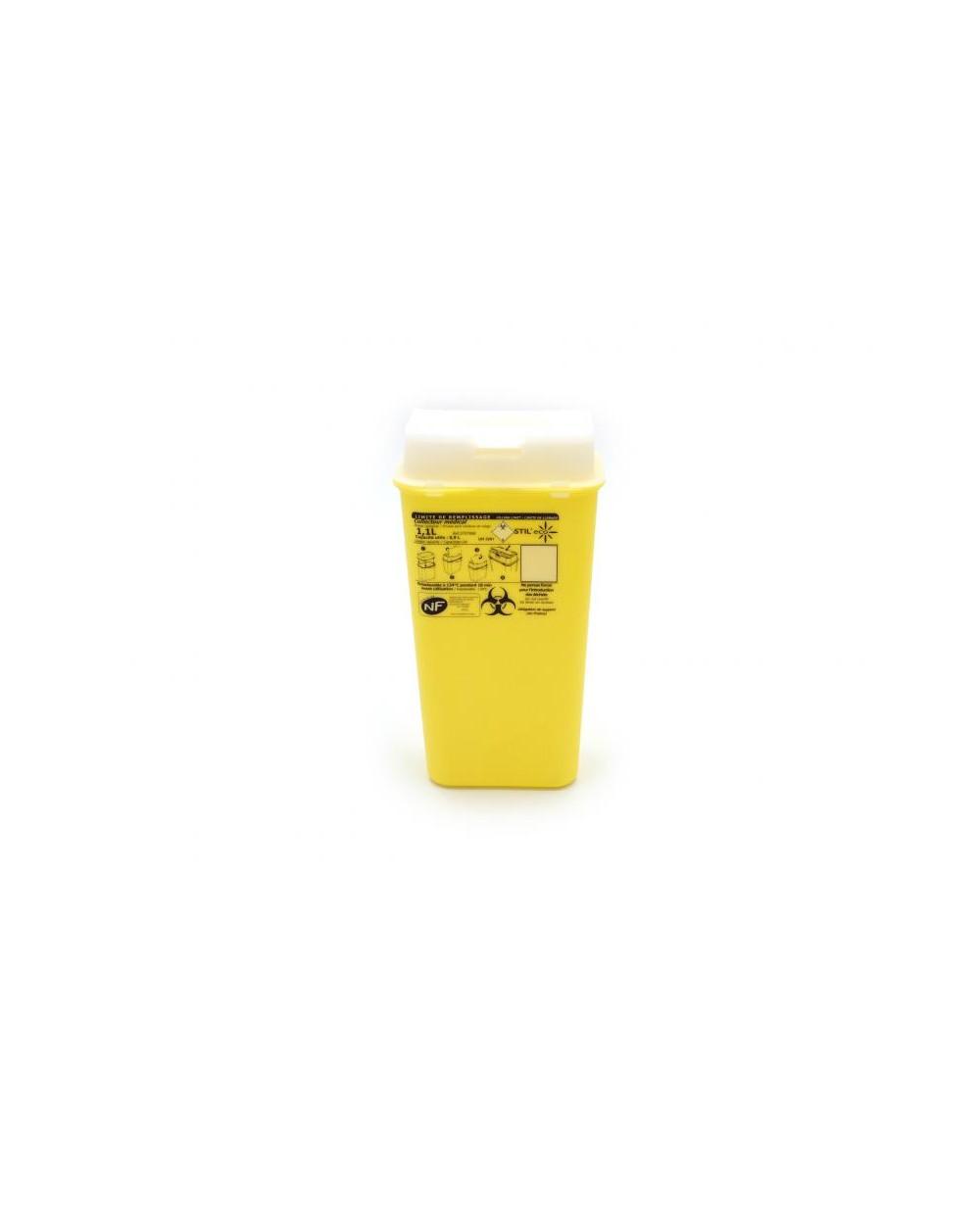 Mini-container à aiguilles ESSENTIA 1,1 litres.
