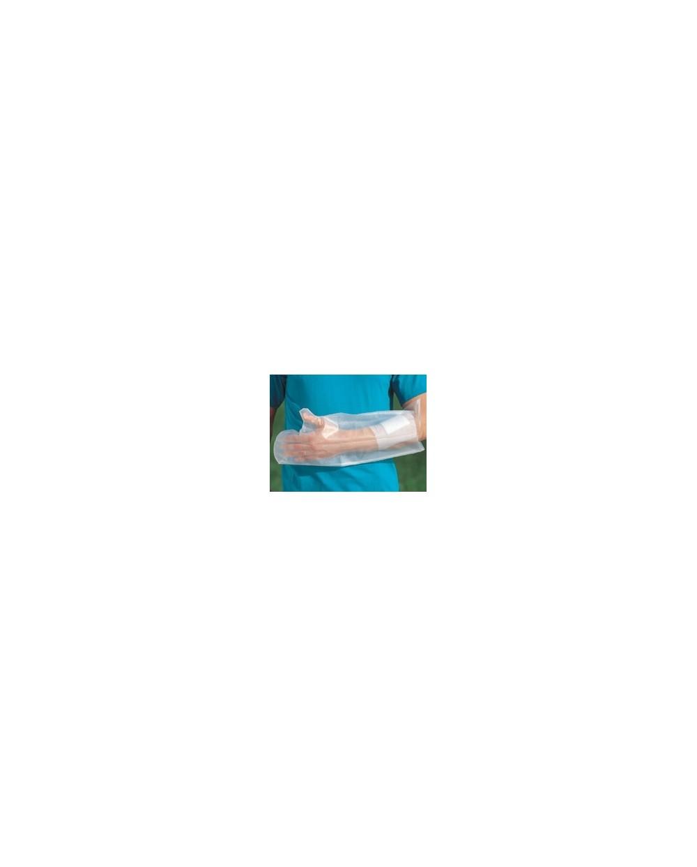 Housse étanche pour plâtre de l'avant-bras, taille L.