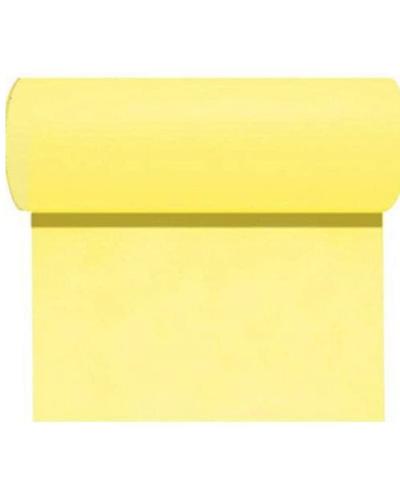 Rouleau de nappe jaune