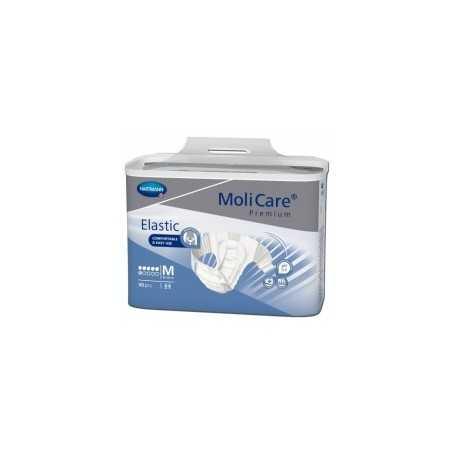 Molicare Premium Slip Elastic Medium 6 gouttes - 30 protections  SenUp.com
