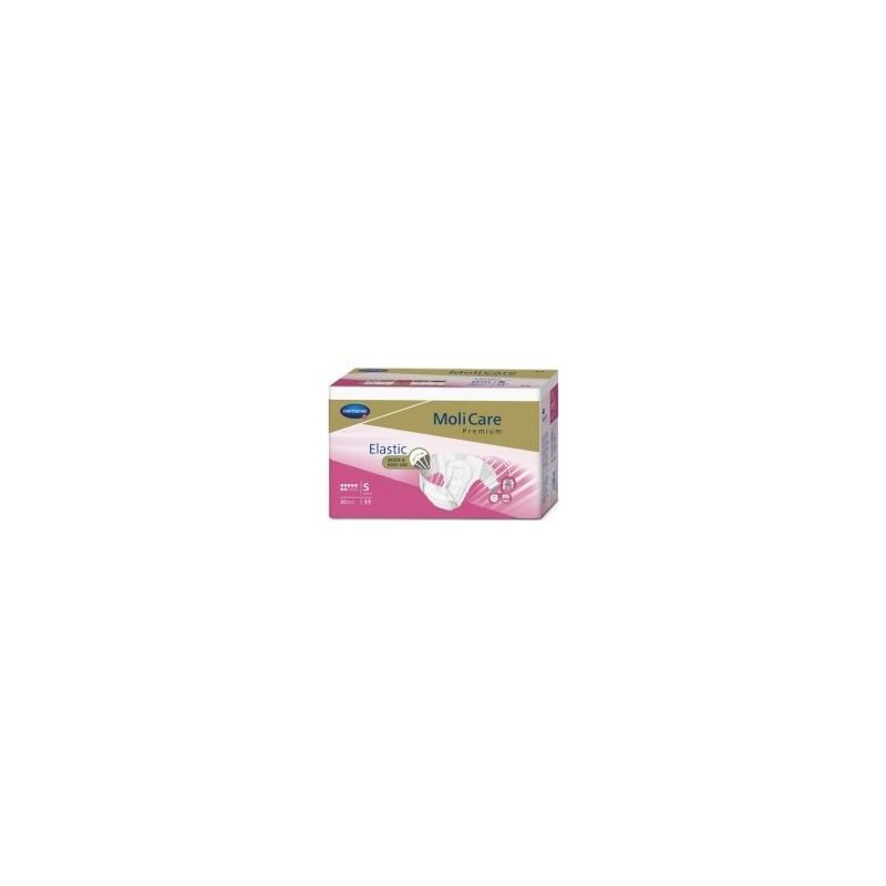 Molicare Premium Slip Elastic Small 7 gouttes - 30 protections  SenUp.com