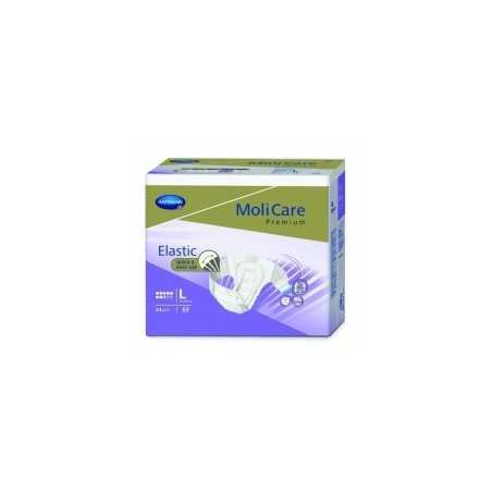Molicare Premium Slip Elastic Large 8 gouttes - 24 protections| SenUp.com