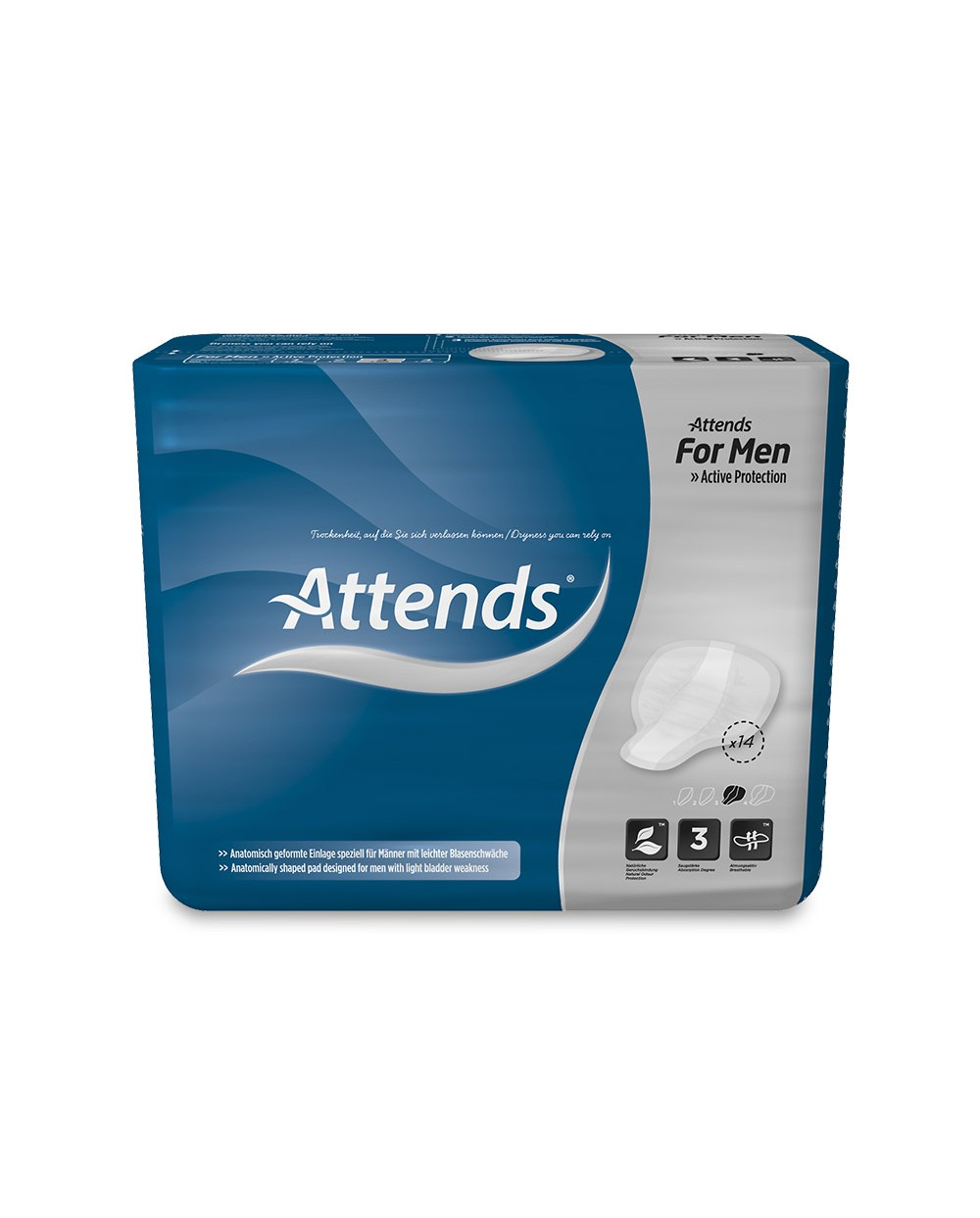 ATTENDS For Men 3 - 14 protections
