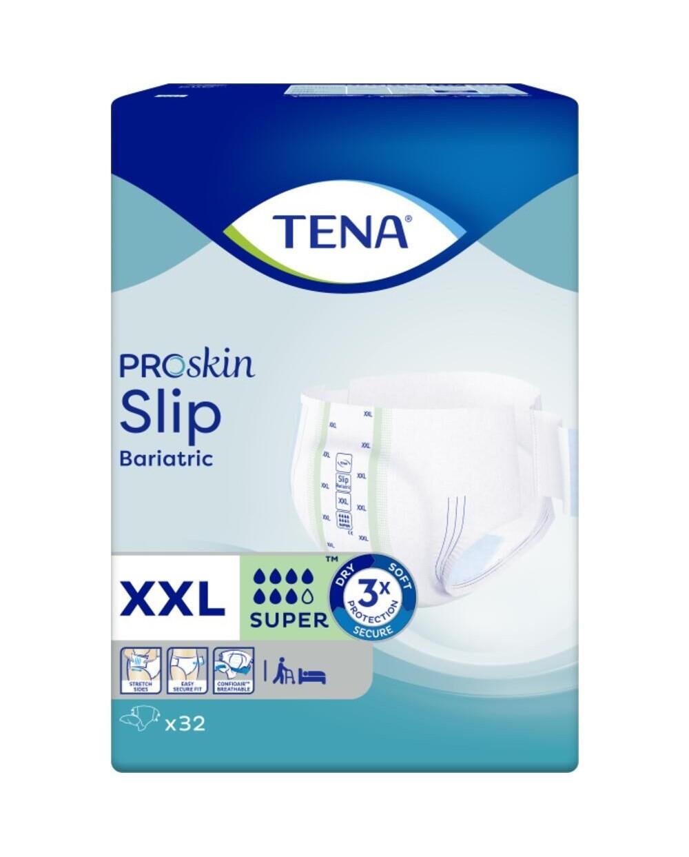 Tena Slip Bariatric Super XXL - 32 protections