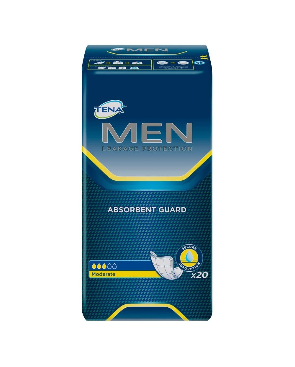 Tena Men Level 2  - 20 protections