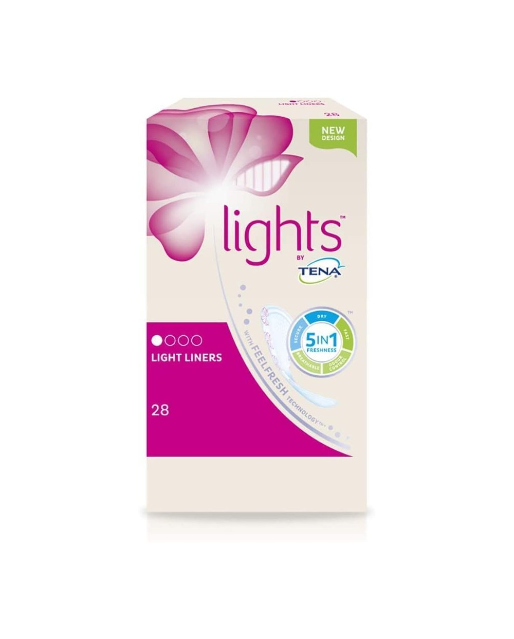 Lights by TENA - Light Liners - 28 protections