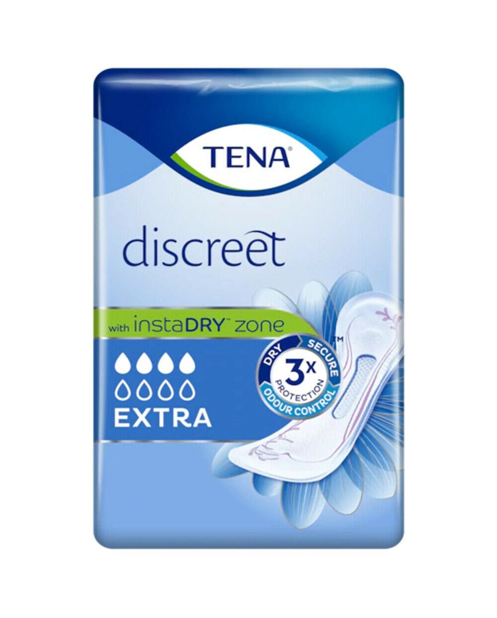 Tena Discreet Extra - 20 protections