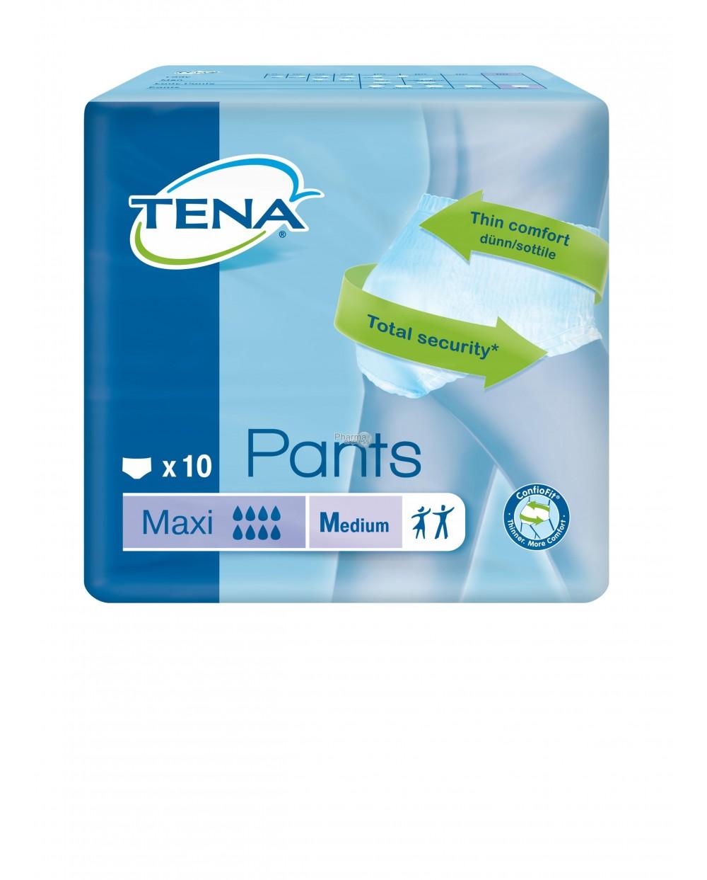 Tena Pants Maxi Medium - 10 protections