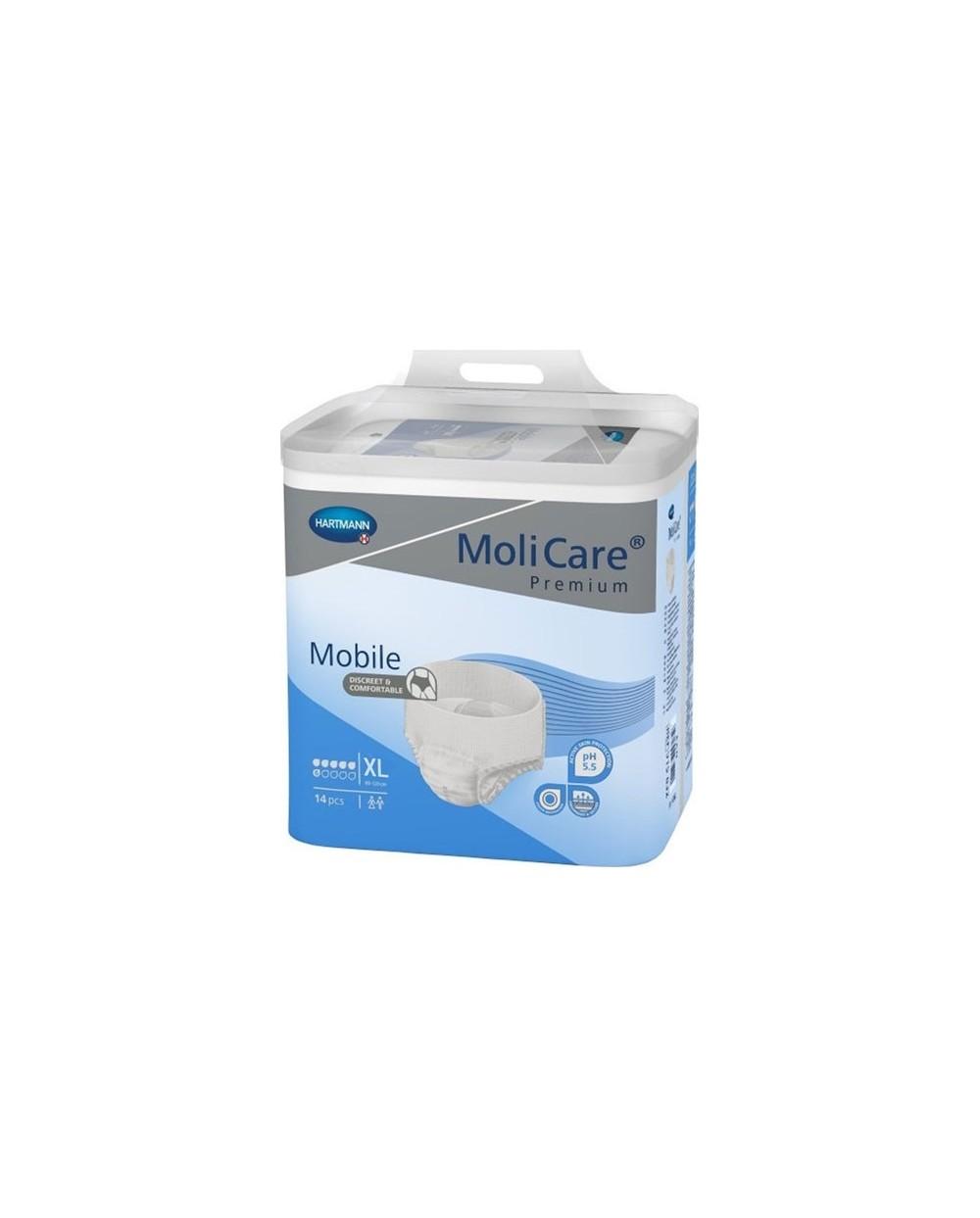 Hartmann MoliCare Mobile 6 gouttes XL- 14 protections