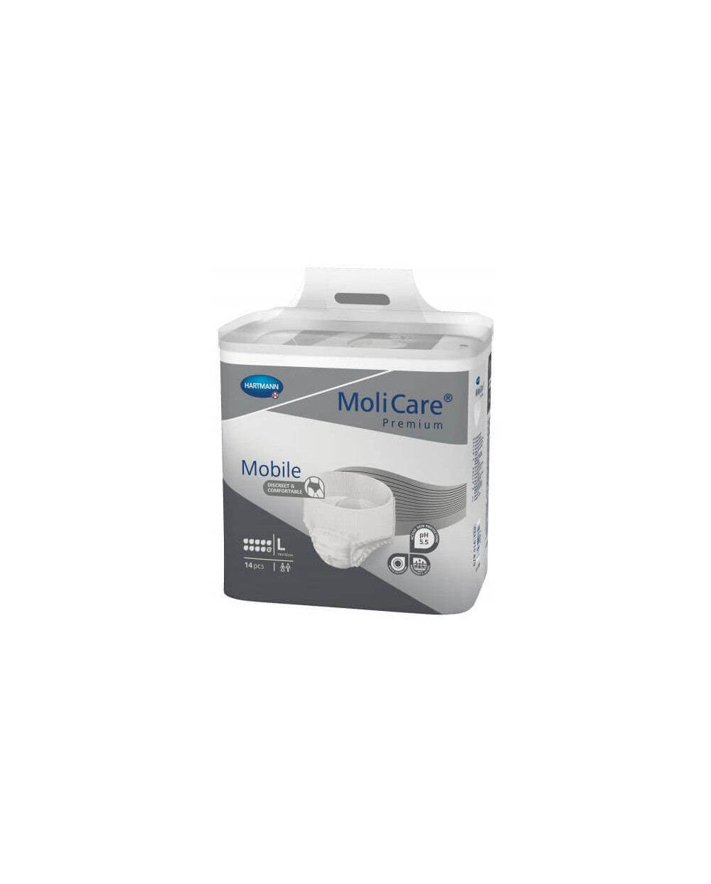 Hartmann Molicare Mobile 10 Gouttes - LARGE - 14 protections